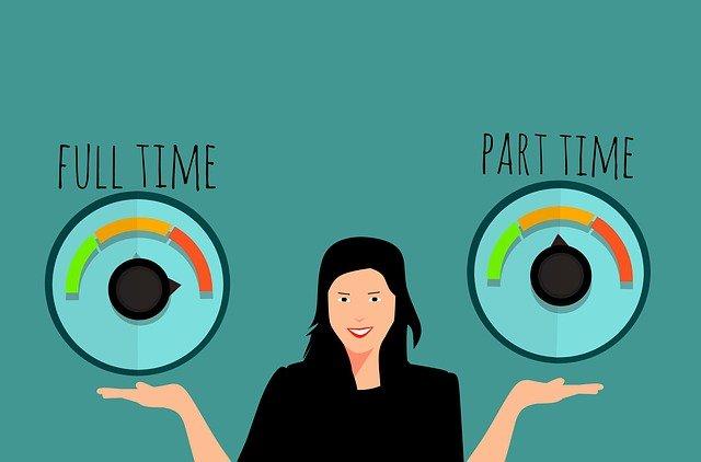 FULL TIME JOB VS PART TIME