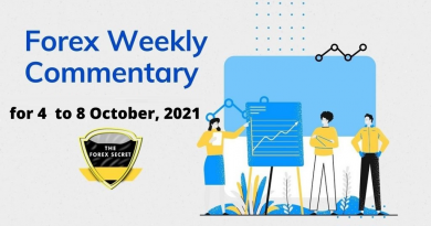 Weekly Forex outlook and review for for 4 to 8 October, 2021